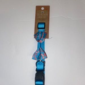 Holiday Dog Collar with Bow Tie